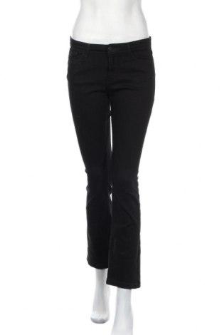 Дамски дънки Cross Jeans, Размер M, Цвят Черен, 97% памук, 3% еластан, Цена 7,00лв.