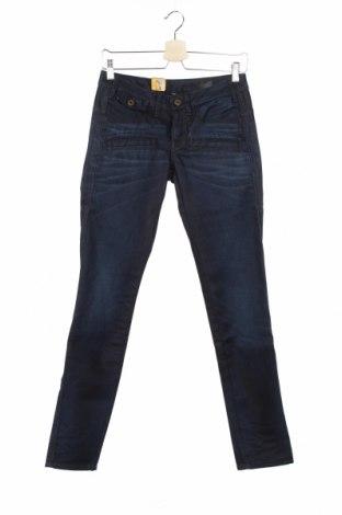 Дамски дънки G-Star Raw, Размер XS, Цвят Син, 99% памук, 1% еластан, Цена 38,27лв.