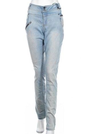 Дамски дънки M.a.p.p., Размер XL, Цвят Син, 67% памук, 30% полиестер, 3% еластан, Цена 13,65лв.