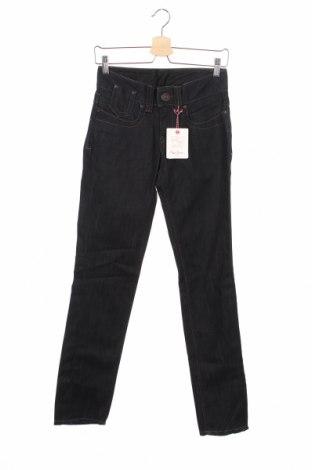 Дамски дънки Pepe Jeans, Размер XS, Цвят Син, Памук, Цена 28,08лв.