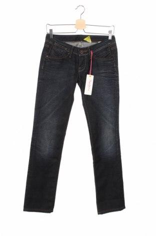 Дамски дънки Pepe Jeans, Размер S, Цвят Син, 100% памук, Цена 24,96лв.
