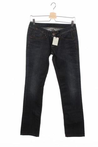 Дамски дънки Pepe Jeans, Размер S, Цвят Син, Памук, Цена 116,09лв.