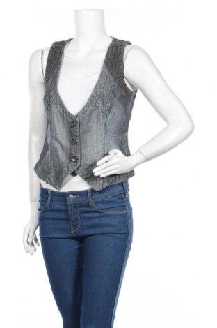 Дамски елек DKNY Jeans, Размер M, Цвят Син, Памук, Цена 9,10лв.