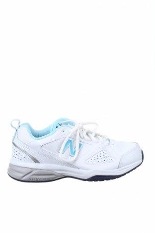 Γυναικεία παπούτσια New Balance, Μέγεθος 39, Χρώμα Λευκό, Γνήσιο δέρμα, δερματίνη, Τιμή 57,37€