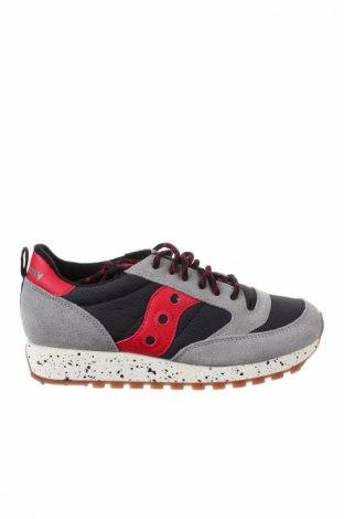 Γυναικεία παπούτσια Saucony, Μέγεθος 38, Χρώμα Πολύχρωμο, Φυσικό σουέτ, κλωστοϋφαντουργικά προϊόντα, Τιμή 57,37€