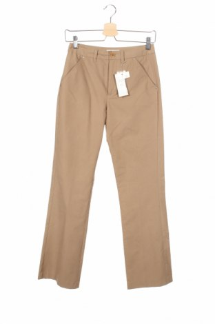 Дамски панталон Esprit, Размер XS, Цвят Бежов, 70% памук, 20% полиестер, 10% полиамид, Цена 10,97лв.