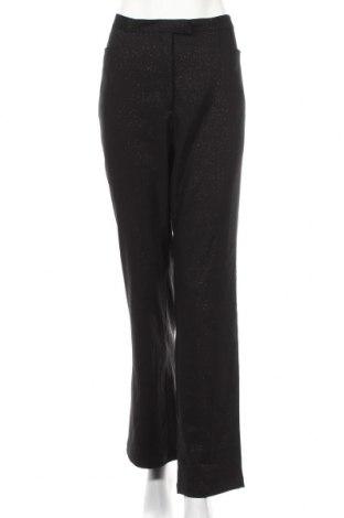 Дамски панталон Fransa, Размер L, Цвят Черен, 97% полиестер, 3% еластан, Цена 3,00лв.