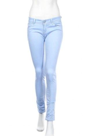Дамски панталон Madonna, Размер S, Цвят Син, 98% памук, 2% еластан, Цена 3,00лв.