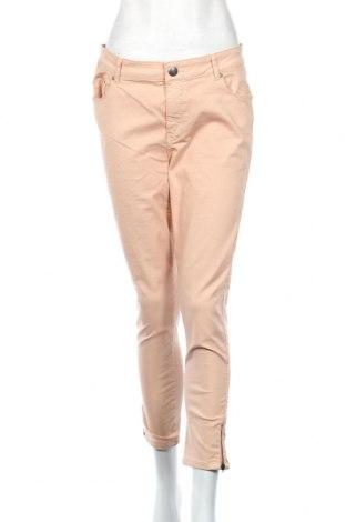 Дамски панталон Soya Concept, Размер L, Цвят Розов, 62% памук, 32% полиестер, 6% еластан, Цена 25,88лв.