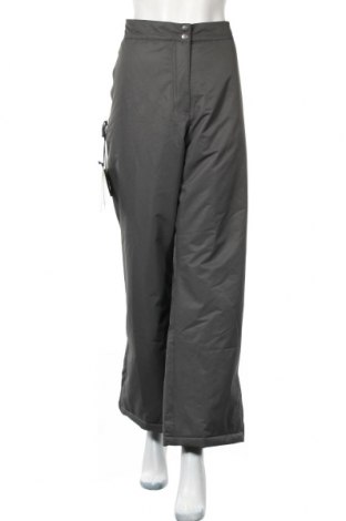 Дамски спортен панталон Bpc Bonprix Collection, Размер XXL, Цвят Сив, Полиестер, Цена 26,22лв.