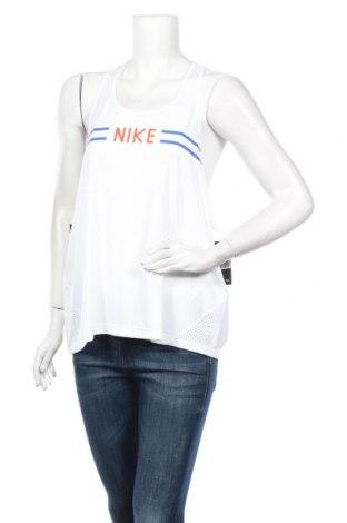 Дамски потник Nike, Размер XL, Цвят Бял, Полиестер, Цена 14,75лв.