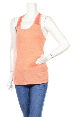 Дамски потник Nike, Размер S, Цвят Оранжев, 85% полиестер, 15% памук, Цена 20,80лв.