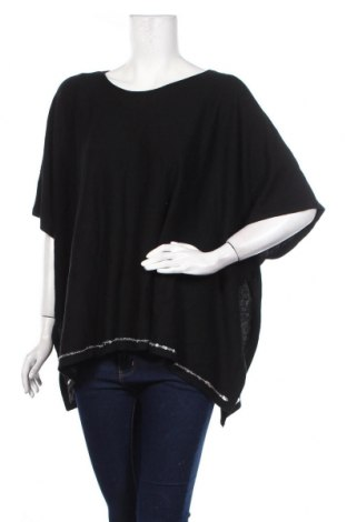 Γυναικείο πουλόβερ Canda, Μέγεθος M, Χρώμα Μαύρο, 52% πολυεστέρας, 35%ακρυλικό, 13% πολυαμίδη, Τιμή 16,89€