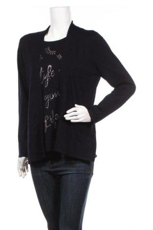Γυναικείο πουλόβερ Canda, Μέγεθος M, Χρώμα Μπλέ, Τιμή 14,94€