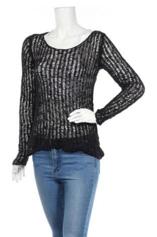 Дамски пуловер Paprika, Размер S, Цвят Черен, Акрил, Цена 3,00лв.