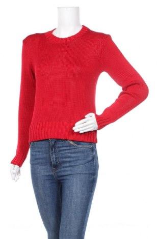 Damski sweter Polo By Ralph Lauren, Rozmiar M, Kolor Czerwony, Bawełna, Cena 347,50zł