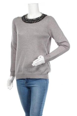 Дамски пуловер S.Oliver, Размер M, Цвят Сив, 58% полиакрил, 27% полиестер, 15% вълна, Цена 33,60лв.