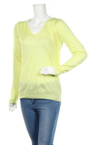Дамски пуловер Units, Размер L, Цвят Зелен, 70% вискоза, 30% полиестер, Цена 6,83лв.