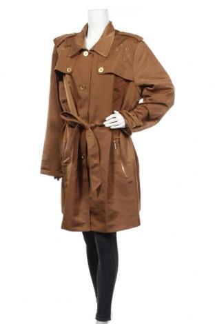 Дамски шлифер Bpc Bonprix Collection, Размер 3XL, Цвят Кафяв, 84% полиестер, 16% полиамид, Цена 53,20лв.