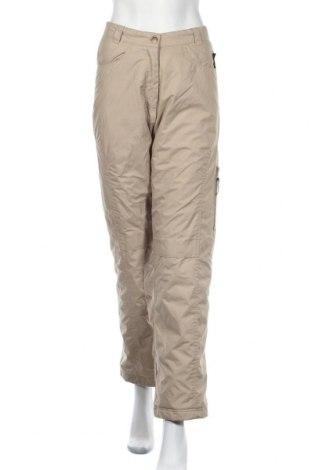 Дамски спортен панталон Crane Sports, Размер S, Цвят Бежов, 100% полиестер, Цена 7,35лв.