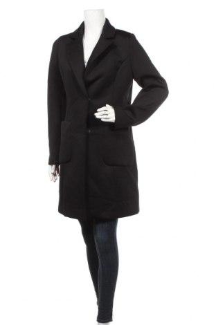 Damski płaszcz Comma,, Rozmiar M, Kolor Czarny, 79% poliester, 14% wiskoza, 7% elastyna, Cena 437,13zł