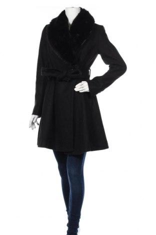 Дамско палто Forever New, Размер M, Цвят Черен, 58% акрил, 36% полиестер, 6% вълна, Цена 146,00лв.