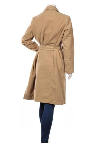 Дамско палто Maite Kelly by Bonprix, Размер L, Цвят Бежов, 95% полиестер, 5% вълна, Цена 25,80лв.