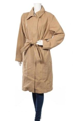 Дамско палто Maite Kelly by Bonprix, Размер XXL, Цвят Бежов, 95% полиестер, 5% вълна, Цена 25,80лв.