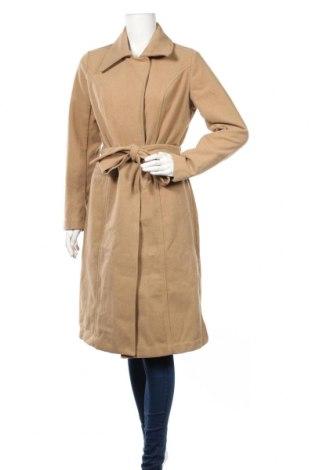 Дамско палто Maite Kelly by Bonprix, Размер M, Цвят Бежов, 95% полиестер, 5% вълна, Цена 36,12лв.