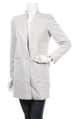 Γυναικείο παλτό Vero Moda, Μέγεθος S, Χρώμα Γκρί, 89% πολυεστέρας, 19% βαμβάκι, Τιμή 29,39€