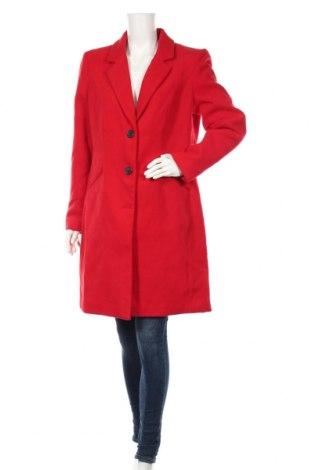 Γυναικείο παλτό Vero Moda, Μέγεθος XL, Χρώμα Κόκκινο, 89% πολυεστέρας, 10% βισκόζη, 1% ελαστάνη, Τιμή 45,88€