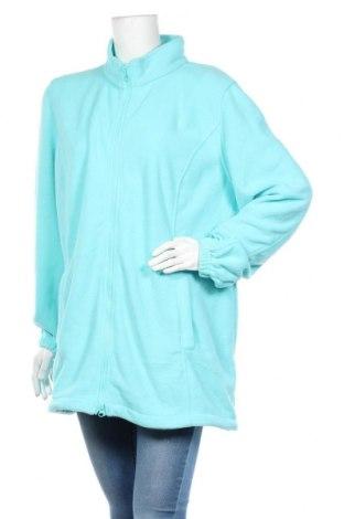 Damska bluza z polaru Bpc Bonprix Collection, Rozmiar XXL, Kolor Niebieski, Poliester, Cena 66,00zł