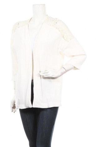 Дамско сако H&M, Размер S, Цвят Бял, Вискоза, Цена 3,00лв.
