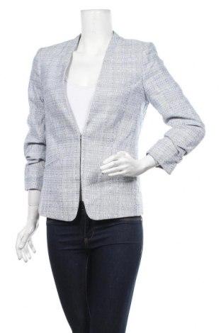 Γυναικείο σακάκι H&M, Μέγεθος M, Χρώμα Μπλέ, 49% βαμβάκι, 33% πολυεστέρας, 17% βισκόζη, 1% ελαστάνη, Τιμή 24,68€