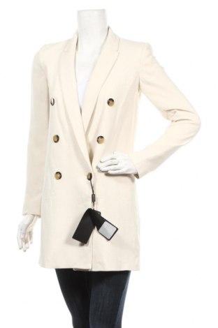 Damski żakiet Massimo Dutti, Rozmiar XS, Kolor Beżowy, 80% wiskoza, 20% wełna, Cena 404,63zł