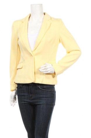Γυναικείο σακάκι Vero Moda, Μέγεθος M, Χρώμα Κίτρινο, 66% πολυεστέρας, 34% βαμβάκι, Τιμή 28,61€