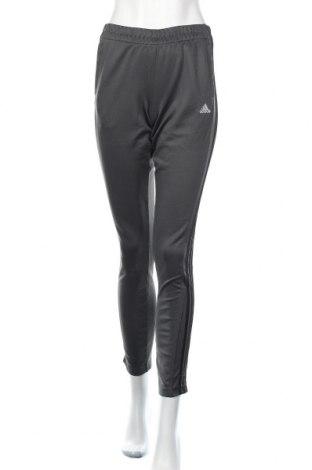 Damskie spodnie sportowe Adidas, Rozmiar S, Kolor Szary, 100% poliester, Cena 102,00zł