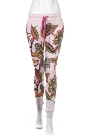 Damskie spodnie sportowe Frogbox, Rozmiar S, Kolor Kolorowy, 80% bawełna, 20% metalowe nici, Cena 166,88zł