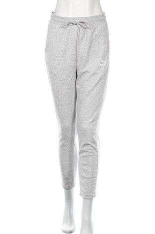 Γυναικείο αθλητικό παντελόνι PUMA, Μέγεθος S, Χρώμα Γκρί, 68% βαμβάκι, 32% πολυεστέρας, Τιμή 30,54€