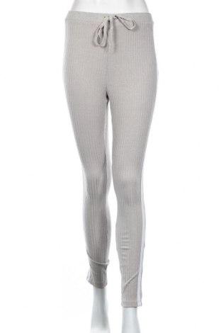 Damskie spodnie sportowe Shein, Rozmiar S, Kolor Szary, 80% poliester, 15% bawełna, 5% elastyna, Cena 66,00zł