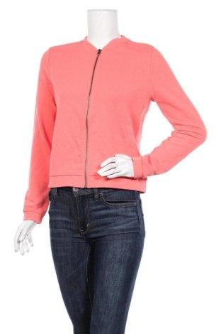 Дамско спортно горнище Q/S by S.Oliver, Размер S, Цвят Розов, 60% памук, 40% полиестер, Цена 15,80лв.