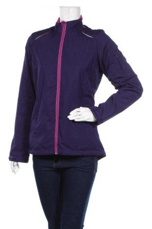 Дамско спортно яке, Размер S, Цвят Лилав, Полиестер, Цена 11,03лв.