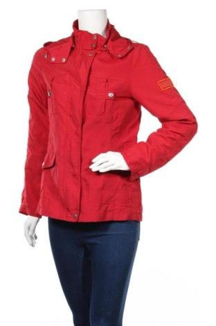 Дамско спортно яке Authentic Clothing Company, Размер S, Цвят Червен, Полиамид, Цена 11,03лв.