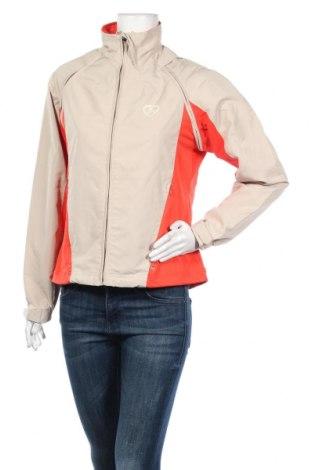 Дамско спортно яке Crane Sports, Размер M, Цвят Бежов, Полиестер, Цена 8,40лв.