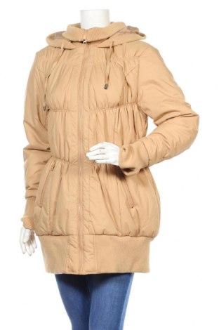 Дамско яке Bpc Bonprix Collection, Размер XL, Цвят Кафяв, Полиуретан, полиестер, Цена 41,44лв.