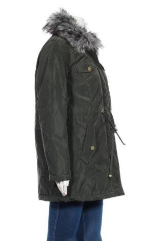 Дамско яке Bpc Bonprix Collection, Размер L, Цвят Зелен, Полиестер, Цена 24,40лв.