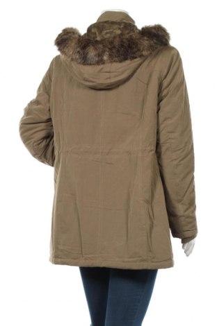Дамско яке Bpc Bonprix Collection, Размер XL, Цвят Зелен, 58% полиестер, 42% памук, Цена 84,00лв.