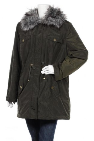 Дамско яке Bpc Bonprix Collection, Размер XL, Цвят Зелен, Полиестер, Цена 43,92лв.