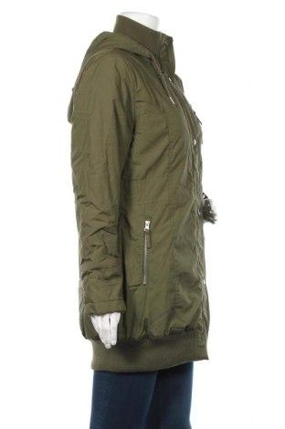 Дамско яке Bpc Bonprix Collection, Размер L, Цвят Зелен, Памук, Цена 41,44лв.