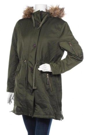 Дамско яке Edc By Esprit, Размер L, Цвят Зелен, 55% памук, 45% полиестер, Цена 141,75лв.